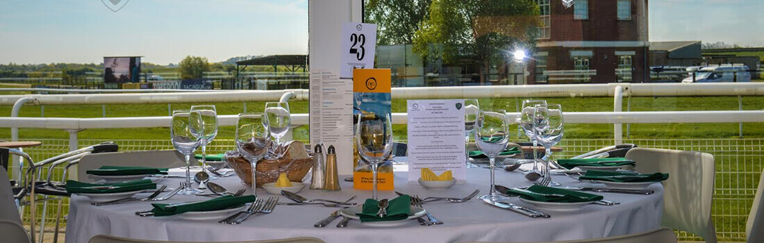 catterick racecourse restaurant dining