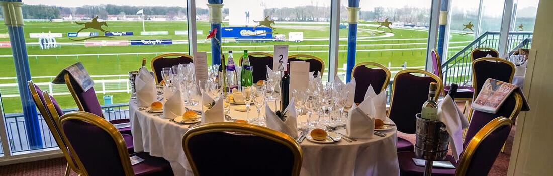 Ayr Racecourse chancellor restaurant