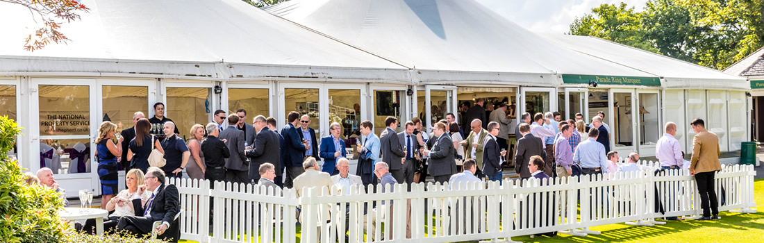 Hamilton Racecourse Private Marquees