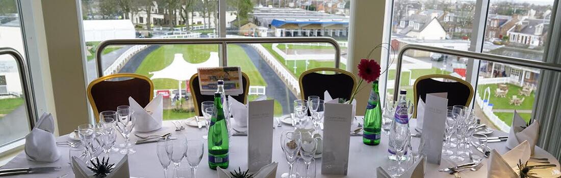 Ayr Racecourse princess royal restaurant