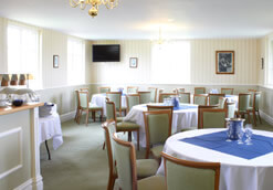 the hornblower room