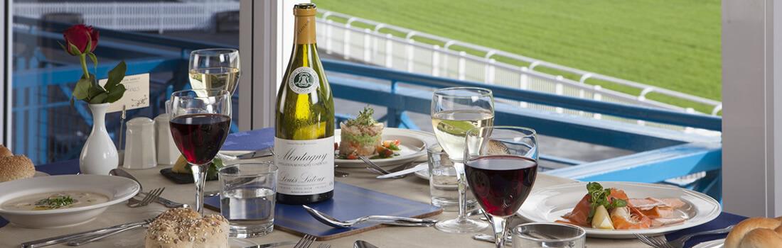 wetherby racecourse restaurant