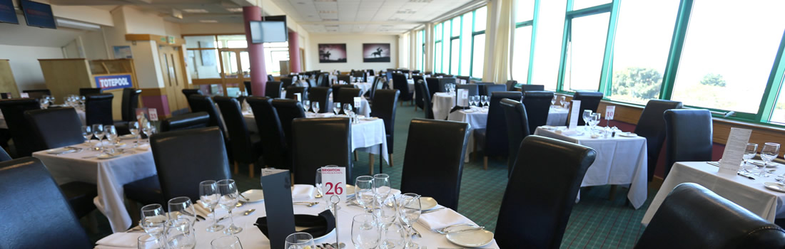 Brighton Racecourse Silks Restaurant