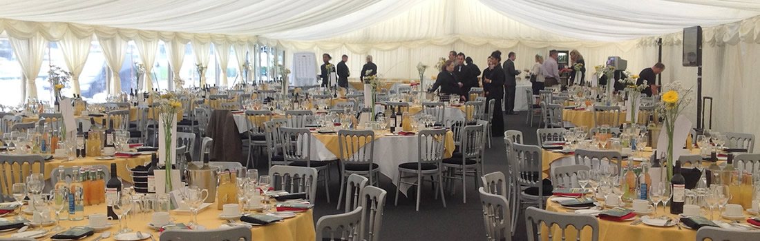 Uttoxeter Racecourse Trackside Marquee