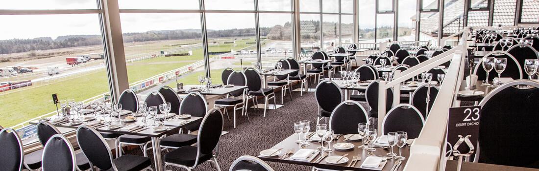 Exeter races Desert Orchid restaurant
